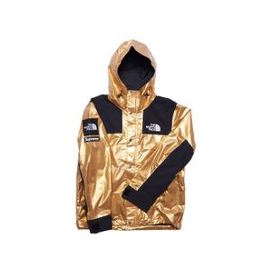 DS Supreme The North Face Gold Metallic Mountain Parka Large SS18 for Sale in Los Angeles, CA
