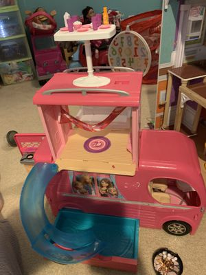 Barbie pop up camper for Sale in Yorkville, IL