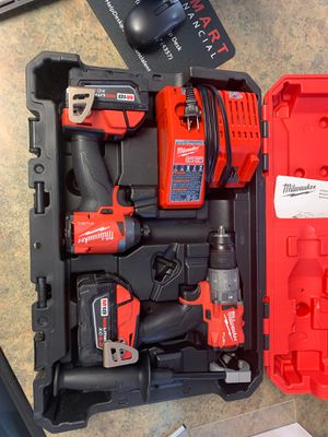 Milwaukee Hammer Drill/Driver and Impact Driver for Sale in Mesa, AZ