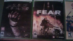 1 XBox 360 game for... Dead Space, or Fear: First Encounter ... for Sale in Columbus, OH