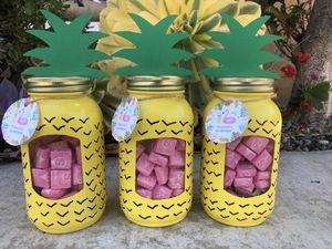 Pineapple mason jars for Sale in Bellflower, CA