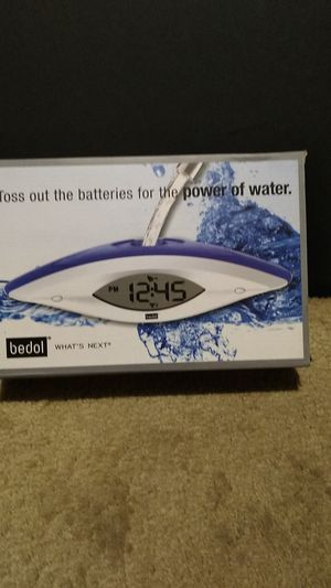 water powered alarm clock for Sale in Chicago, IL