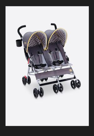NEW! Baby Double STROLLER Jeep Brand Scout Infant Stroller Child Birth - 3yrs Lightweight Reclining Seat 5 Positions Kids Ride Travel for Sale in Reidsville, NC