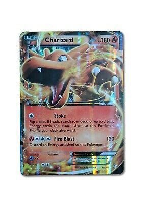 Pokemon TCG Cards : Charizard EX 11/106 - Oversized for Sale in Paterson, NJ
