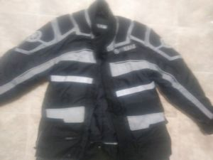 Yamaha Motorcycle Biker Jacket( Black) for Sale in McDonough, GA