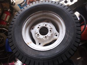 23x10.50-12 small tractor/ mowe tires and wheels for Sale in Lodi, CA