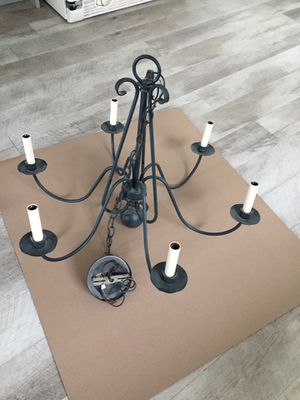 Black chandelier for Sale in Rose Valley, PA