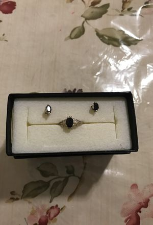 Juego de anillo y aretes de plata 925 for Sale in Hyattsville, MD