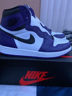 AIR JORDAN 1 HIGH COURT PURPLE SIZE 9 for Sale in Corona, CA