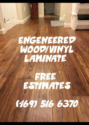 FLOOR INSTALLATION for Sale in Frisco, TX