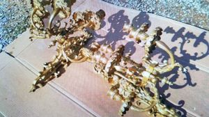 Solid brass wall sconses (candles) for Sale in Shepherdstown, WV