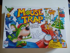 Mousetrap Game Board Mouse Trap Milton Bradley Game for Sale in Charlottesville, VA