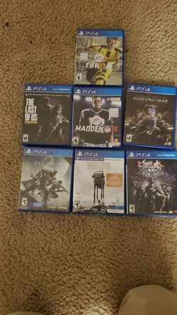 Ps4 games for Sale in Charlottesville,  VA