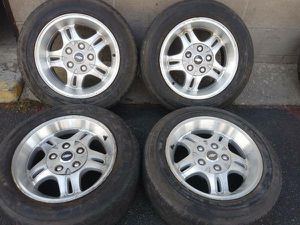 2001 Chevy S10 Extreme 16x8 alloy wheels, rims 5 on 4.75 for Sale in Montebello, CA