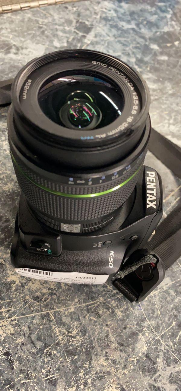 Pentax K-50 digital camera ( no charger )