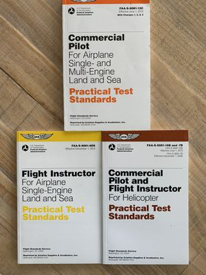 Pilot Test Standard Books for Sale in Grand Prairie, TX