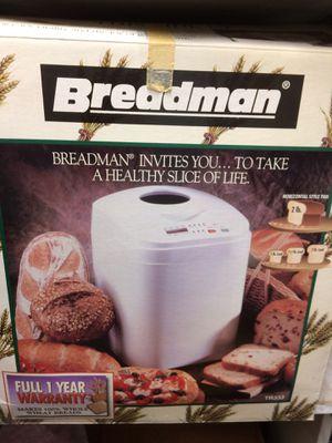 Breadman - Bread machine for Sale in Shawnee Hills, OH