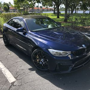 2015 BMW M4 6spd Tanzanite Blue, 54K Miles, CCB, Full Options for Sale in Cape Coral, FL