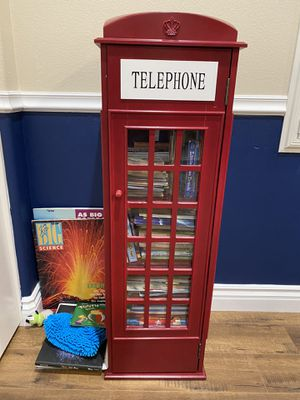 Telephone Booth Bookcase for Sale in Canyon Country, CA