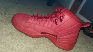 Jordan 12 all red for Sale in Beaumont, CA
