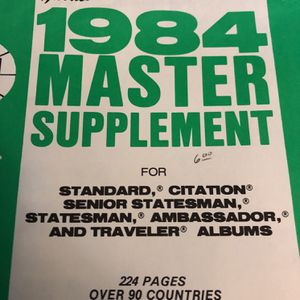 1984 Master Supplement for Sale in Sherwood, OR