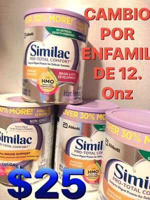 SIMILAC PRO TOTAL CONFORT BIG CANS BABY FORMULA $23 cada bote for Sale in Anaheim, CA