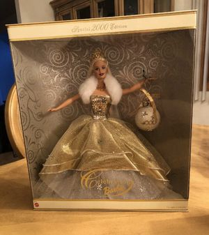 Rare Rare Holiday Celebration Special Edition 2000 Barbie Doll New In Box for Sale in Struthers, OH