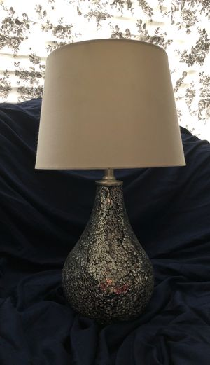Silver lamp for Sale in Mesa, AZ