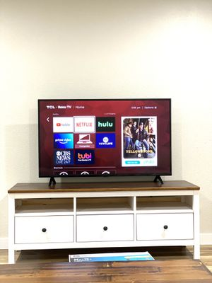 """55"""" TCL Roku LED Smart TV for Sale in Seattle, WA"""