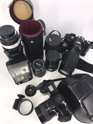 Vintage Camera Set with Carrying Case for Sale in Vienna, VA