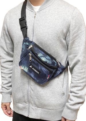 NEW! Tropical Waist / Shoulder Pack not supreme rave fanny pack cross body bag waist pack travel purse side bag pouch for Sale in Carson, CA