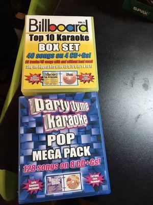 Karaoke cds for Sale in Brooks, OR