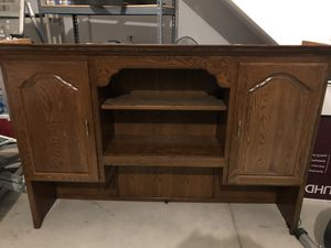 Free Hutch for desk for Sale in Lombard, IL