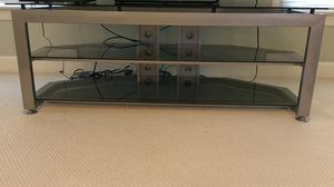 Glass and metal TV/Entertainment Stand for Sale in Chesapeake, VA