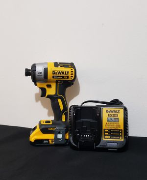 New Impact Drill Brushless 3 Speed 1/4 whit (1) Battery 2.0AH and Charger FIRM PRICE for Sale in Woodbridge, VA