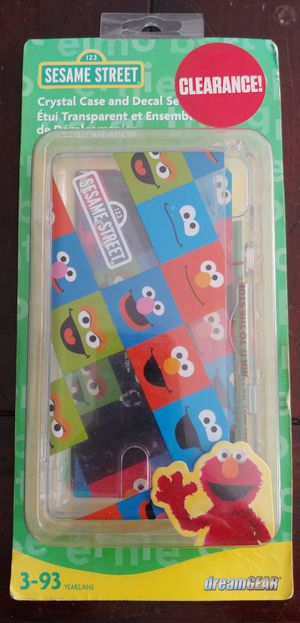 SESAME STREET NINTENDO DS LITE CASE (SEE OTHER POSTS) for Sale in El Cajon, CA