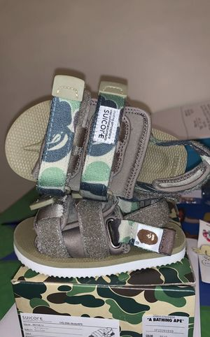 Bape sandals for Sale in Thomasville, NC