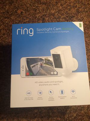Ring Outdoor Camera and Spotlight for Sale in Campbell, CA