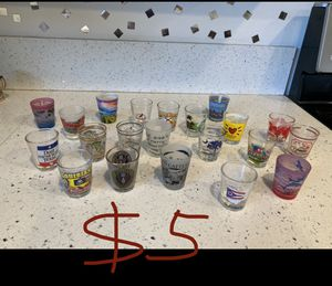 Shot glass collection for Sale in San Fernando, CA