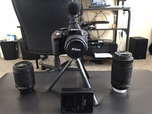 Nikon D5300 Photography and Vlogging Camera!! for Sale in North Las Vegas, NV