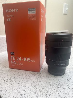 SONY 24-105MM G FE LENS for Sale in Phoenix, AZ