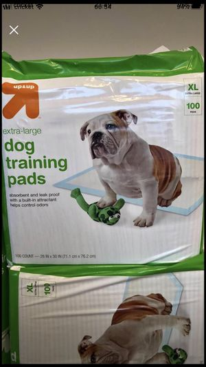 Dog training pads. Size XL for Sale in Cary, NC