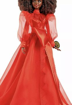 Barbie Collector Mattel 75th Anniversary Doll (12-In Brunette) In Red Gown for Sale in Laurel,  MD