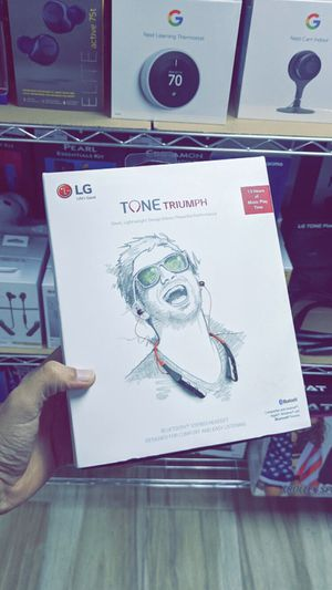 LG TONE TRIUMPH Bluetooth Wireless Stereo Headset! Brand New in Box! for Sale in Arlington, TX