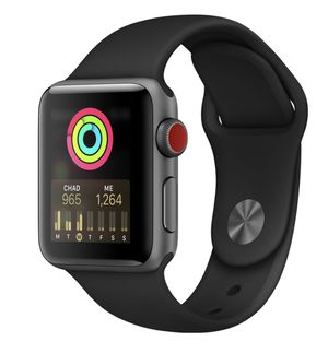 Apple Watch Series 3 LTE (GPS + Cellular) Space Gray with Red band for Sale in Portland, OR