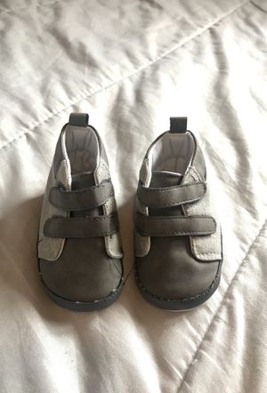 Baby infant crib shoes size 2 for Sale in Ontario, CA