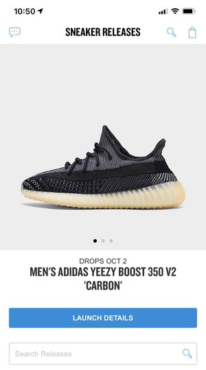 Yeezy Boost 350 V2 Carbon for Sale in Ruskin, FL