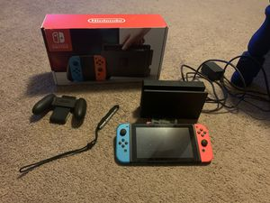 Nintendo Switch & Accessories (2 available) for Sale in Glen Burnie, MD