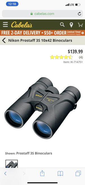 Nikon prostaff 3s 10x42 for Sale in Newark, OH