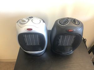 1500W Oscillating Ceramic Space Heater with Adjustable Thermostat,Portable Electric Heater Fan with Overheat Protection and Carry Handle for Sale in Boston, MA